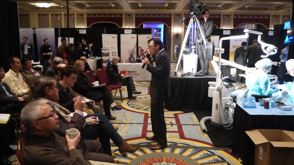 VDDS Midwinter Clinic 2016 - Live Surgery with Dr. Mark Kwong, Narrator for Dr. Chung